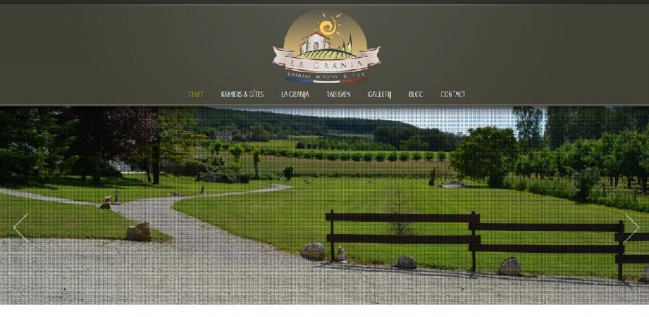 Copywriting website Gîtes La Granja